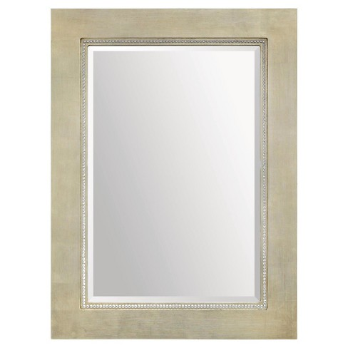 Rectangle Valentina Decorative Wall Mirror Champagne - Ren-Wil - image 1 of 1