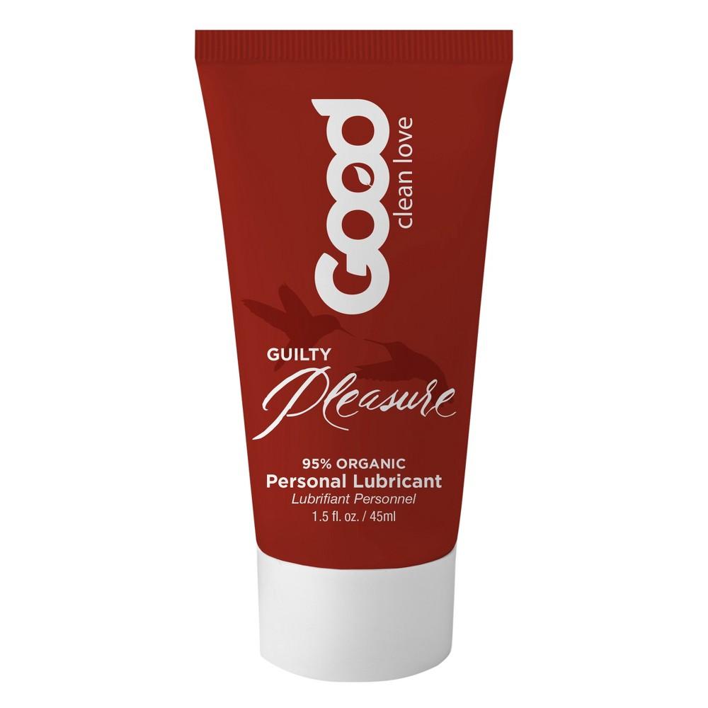 Good Clean Love Cinnamon Vanilla Personal Lubricant - 1.5 oz, Clear