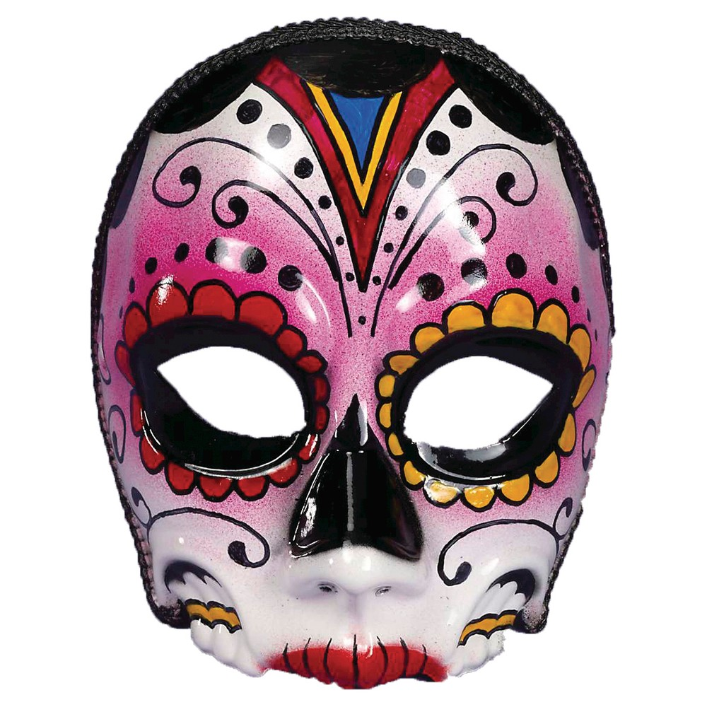Womens Day Of the Dead Costume - One Size Fits Most, Pink