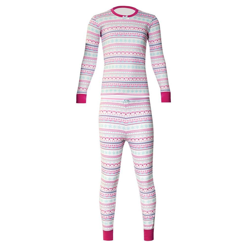 Watsons Girls Thermal Underwear Set - Pink M
