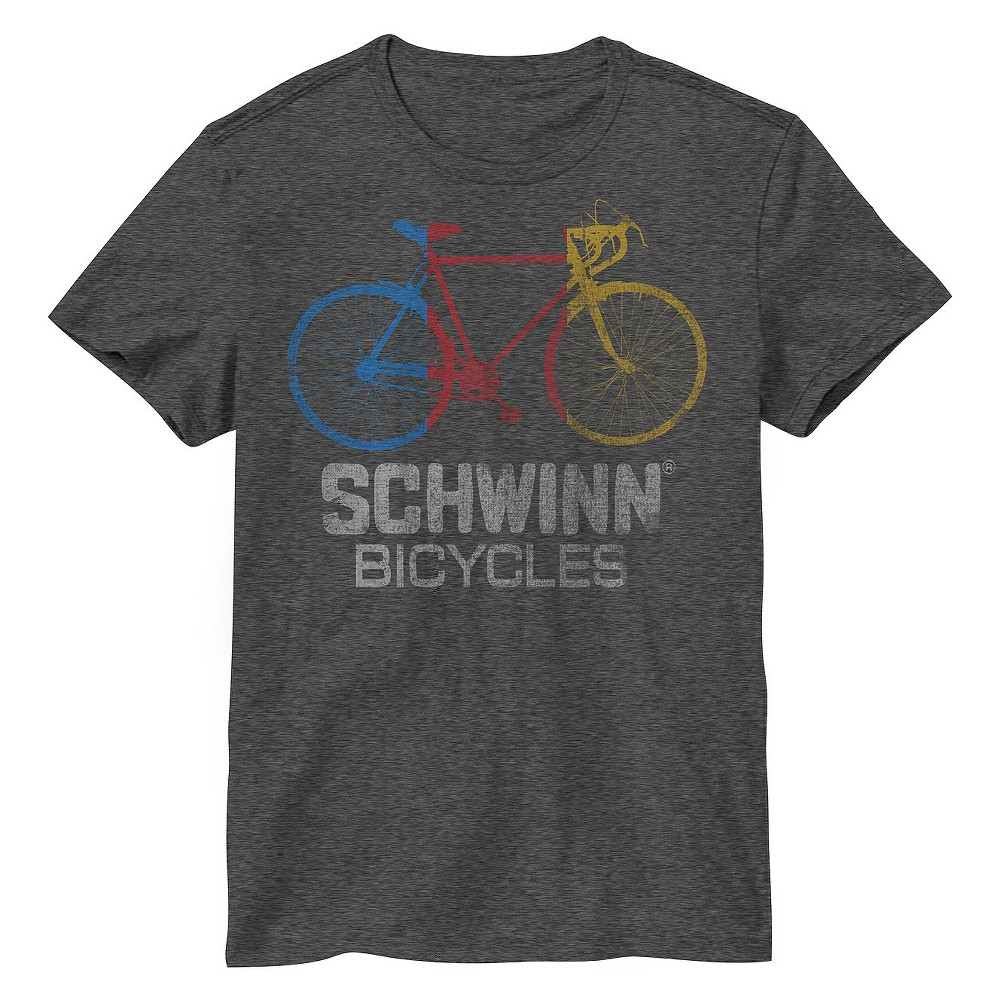 Mens Schwinn Bicycle T-Shirt Gray S