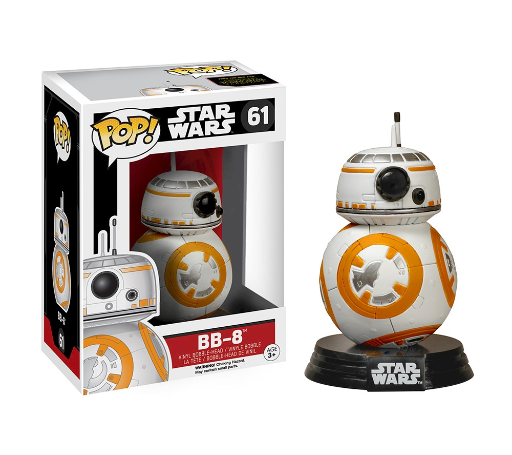 Funko Pop T-Shirts: Star Wars Episode 7 - BB-8 Type Poster, Extra Large