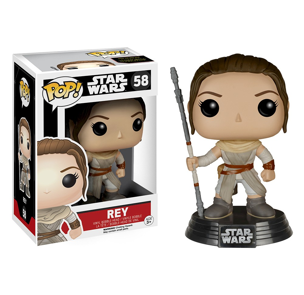 Funko Star Wars Pop! Rey, Mini Figures