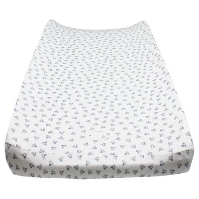 Burt's Bees Baby® Changing Pad Cover - Honeybee Print - Blueberry