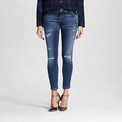 Maternity Inset Under the Belly Ankle Skinny Jean - Medium Wash XL - Liz Lange® for Target