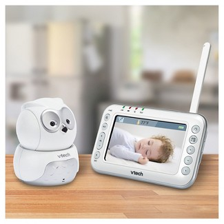 VTech® Owl Digital Video Baby Monitor with Pan & Tilt Camera and Night Vision - VM344