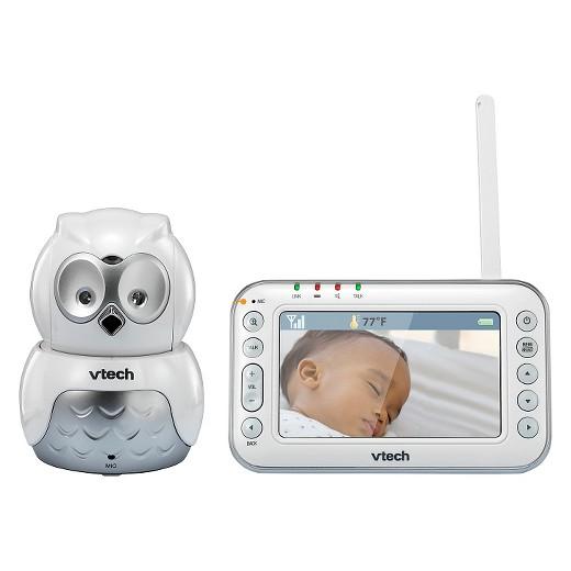 vtech owl digital video baby monitor with pan tilt camera and night vision vm344 target. Black Bedroom Furniture Sets. Home Design Ideas