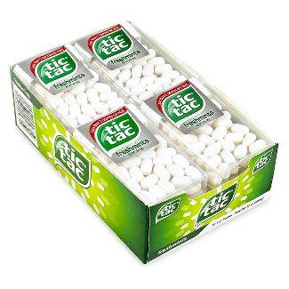 Tic Tac Fresh Breath Mint Candies, Freshmint Singles - 1oz