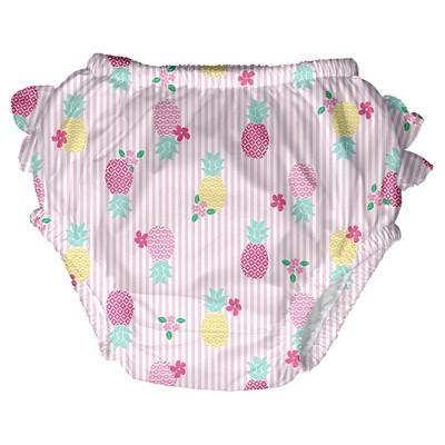 Baby Girls' Pineapple Swim Diaper - Pink S