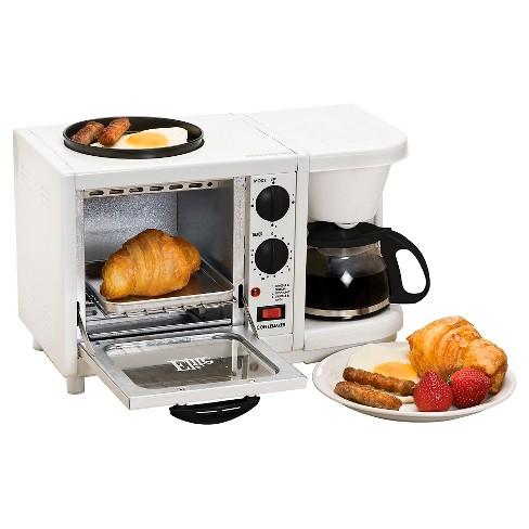 Elite Cuisine Multifunction 3-in-1 Breakfast Center : Target