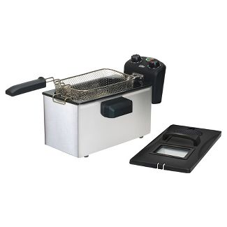 Elite Gourmet 3.5 Qt. Immersion Deep Fryer - Stainless Steel