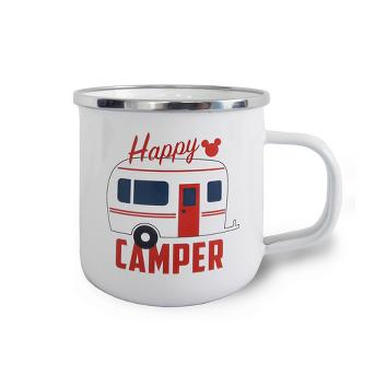Mickey Mouse & Friends Mickey Mouse Stainless Steel Happy Camper Mug 12oz - White