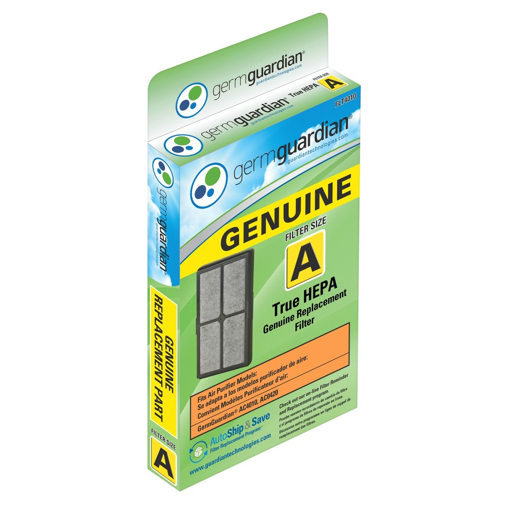 Germ Guardian True Hepa Genuine Replacement Filter A for AC4010/4020 Air Purifiers FLT4010