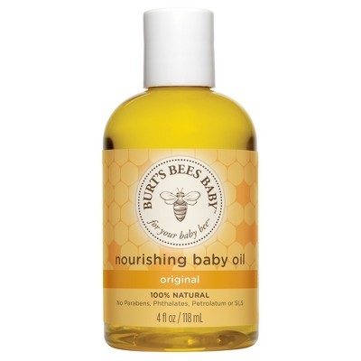 Burt's Bees Nourishing Baby Oil - 4oz