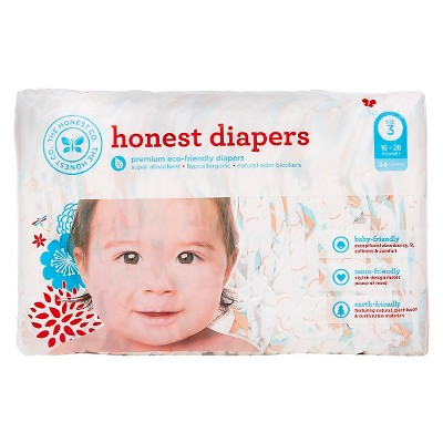 Honest Company Diapers Balloons Jumbo Pack - Size 3 (34 ct)
