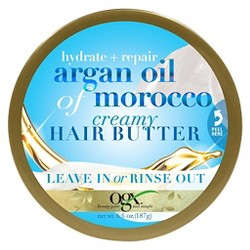 OGX Hydrate + Repair Argan Oil of Morocco Creamy Hair Butter - 6.6oz