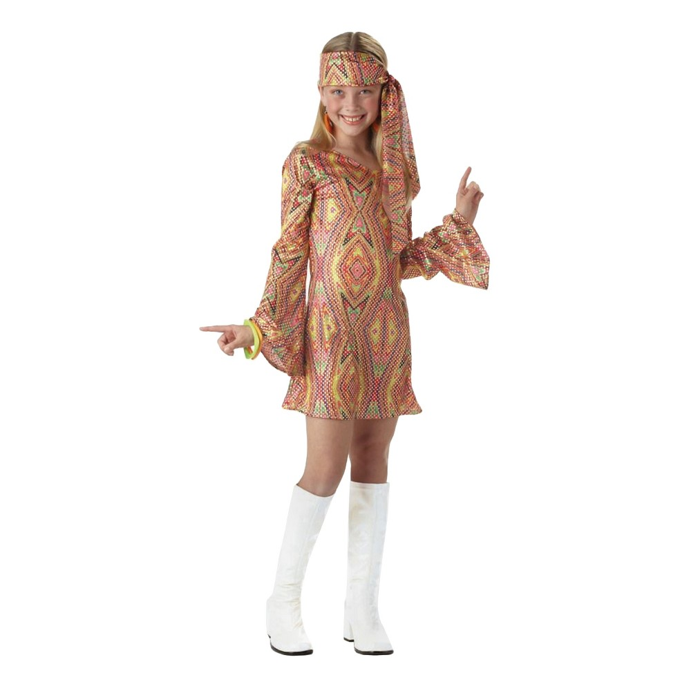 Girls Disco Dolly Child Costume - XL(14-16)