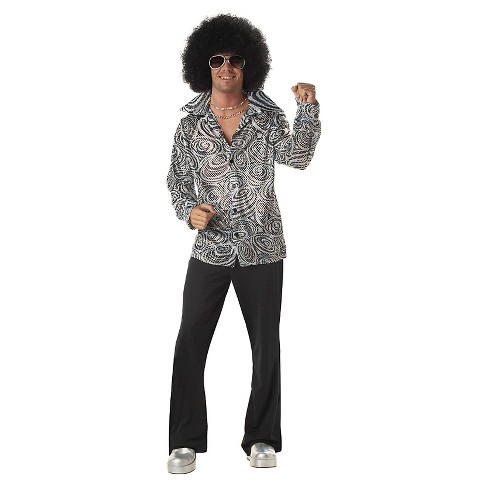 Men's Groovy Disco Shirt Adult Costume Large - image 1 of 1