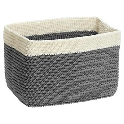 InterDesign® Crochet Small Rectangle Bin