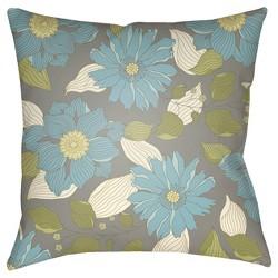 Lite Blue Throw Pillow Surya