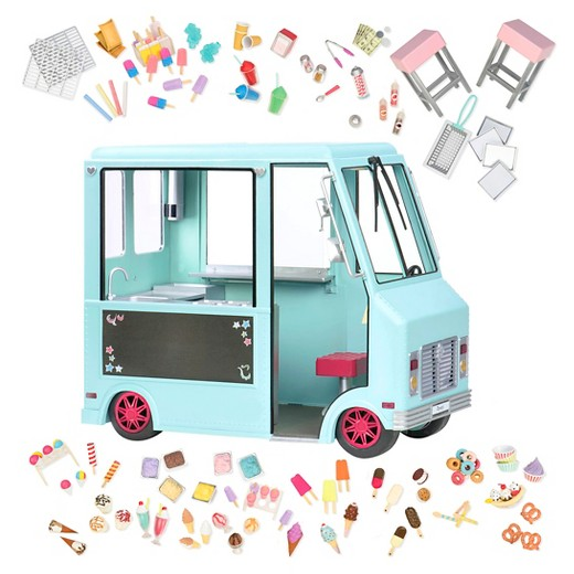 Our Generation Sweet Stop Ice Cream Truck Light Blue Target