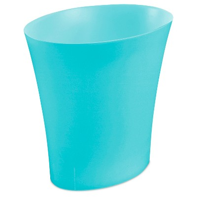No-lid Trash Can Blue 3.3gallon Sterilite - Room Essentials™