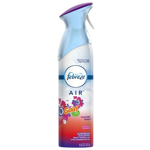 Febreze Air Freshener with Gain Moonlight Breeze Scent - 1ct 250 g - image 1 of 5