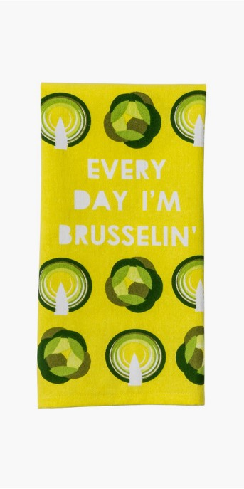 Citrus Pear Vegetable Kitchen Towel Yellow - Project 62™