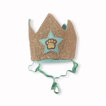 Birthday Crown with Paw Print Dog Headwear - Boots & Barkley™