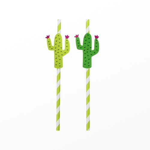 20ct Cactus Shaped Straw - Spritz™