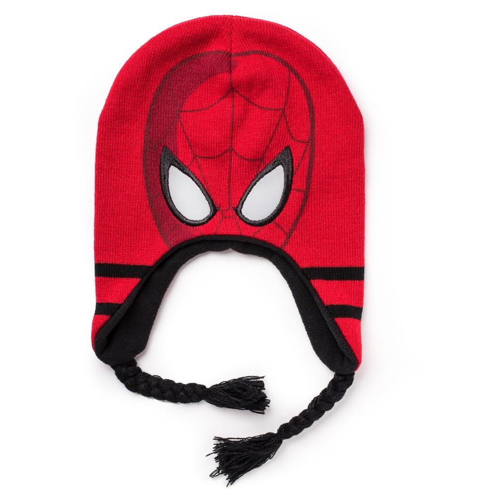 Spider-Man Kids Beanie Red 4-16