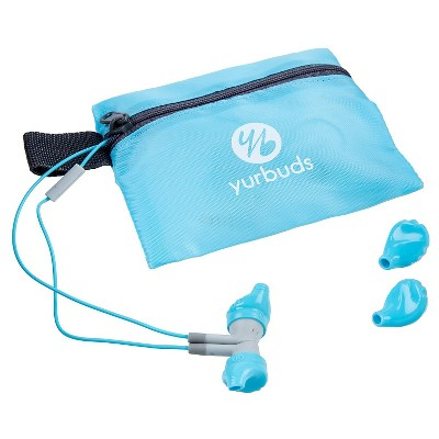 Yurbuds Inspire Wired Headphones 300 - Aqua