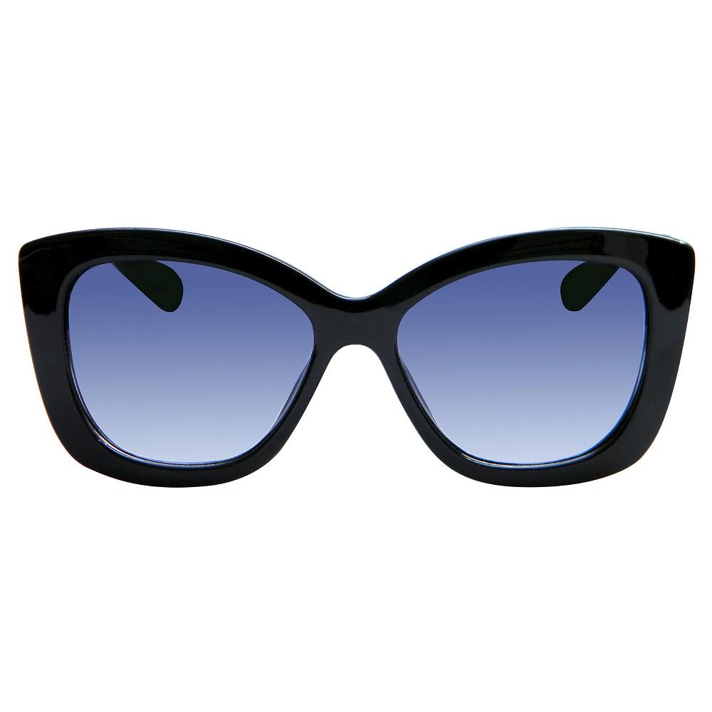 Womens Cateye Sunglasses - Black