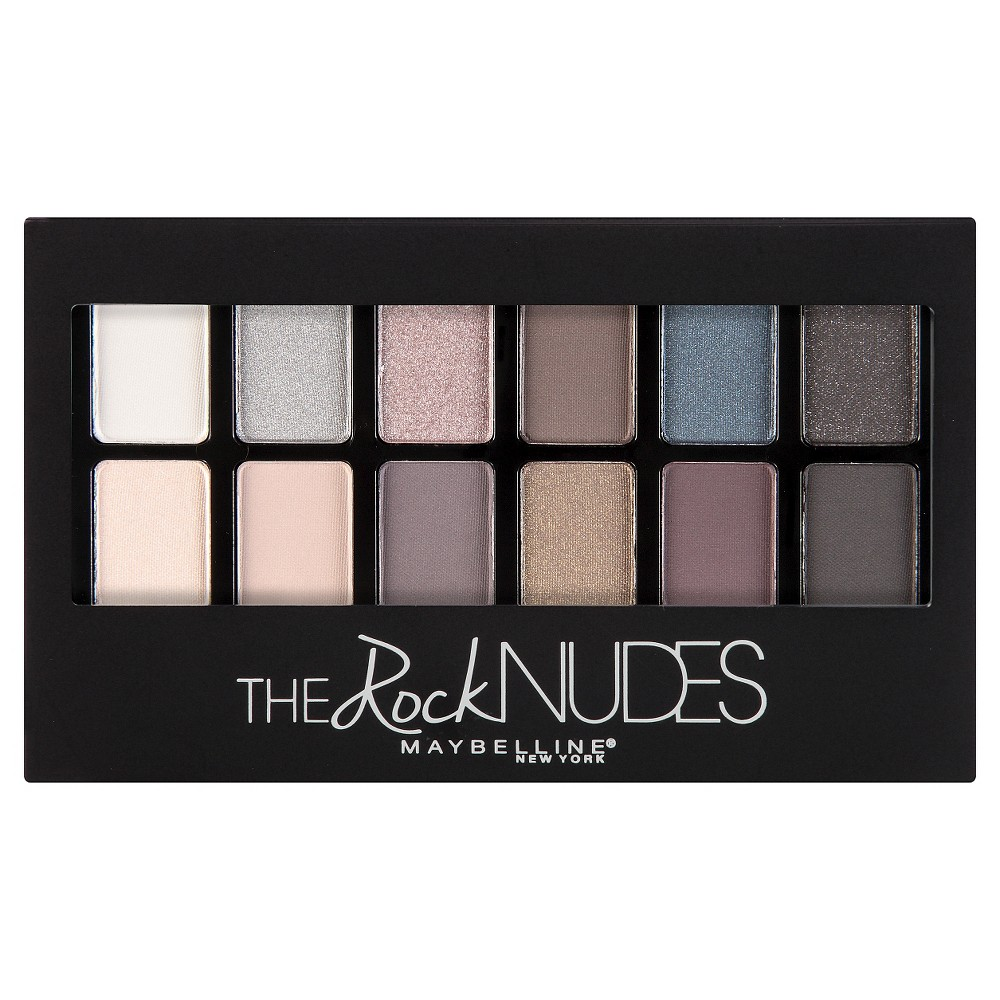 Maybelline The Rock Nudes Eye Shadow Palette 10 0.35 oz, 010 The Rock Nudes