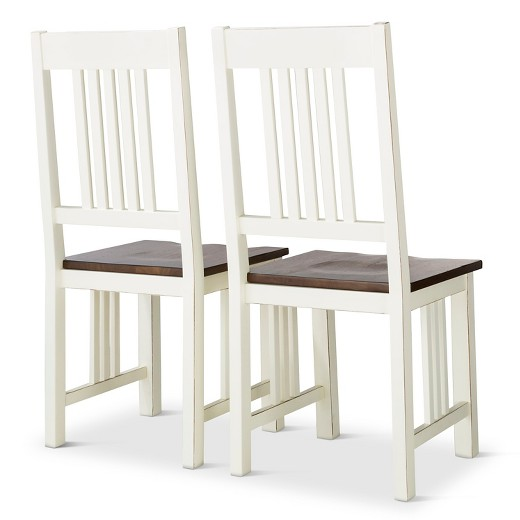 Davern Cottage Dining Chair Off White Set Of 2