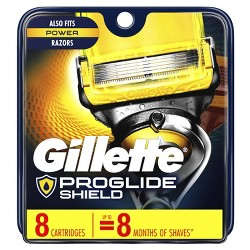 Gillette Fusion5 ProShield Men's Razor Blade Refills - 8ct