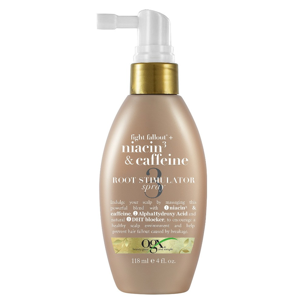 Ogx Anti-Hair Fallout Niacin3 + Caffeine Root Stimulator Spray - 4 fl oz