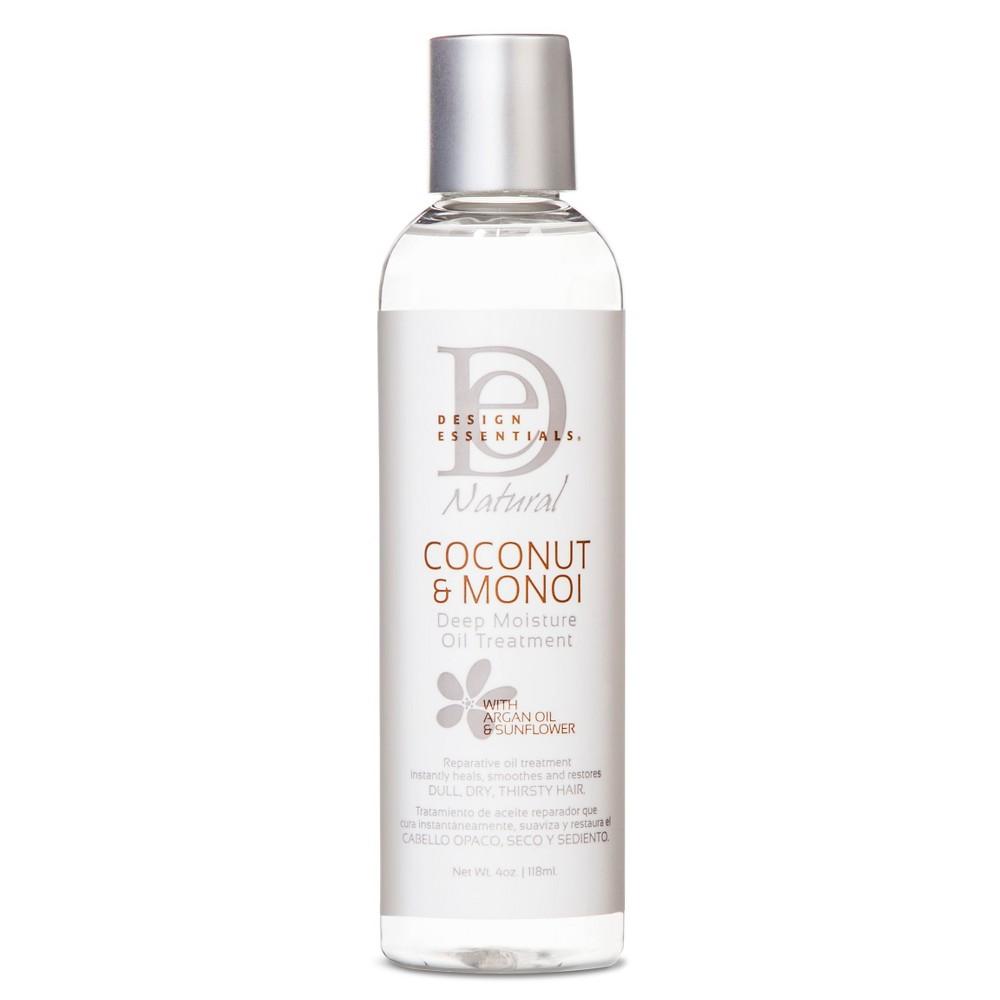 Design Essentials Coconut & Monoi Deep Moisture Oil - 4 oz