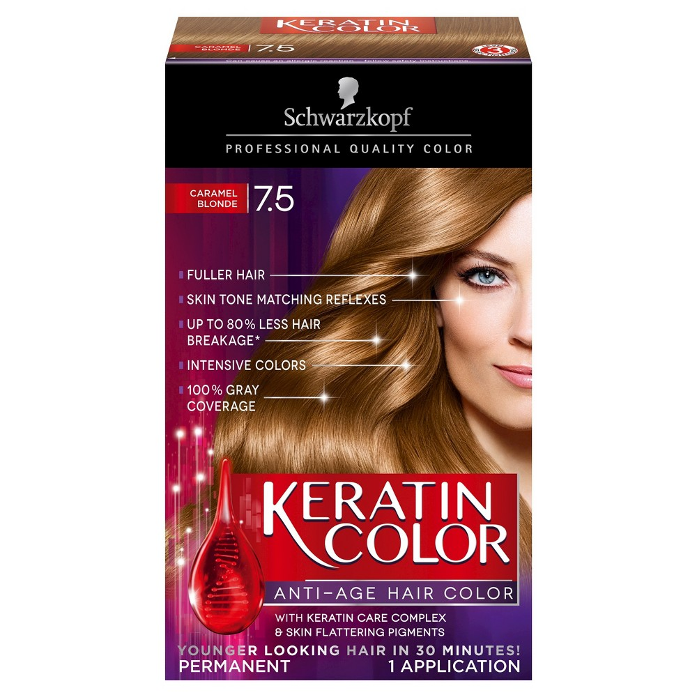 Caramel hair color chart hair color compare prices at nextag schwarzkopf keratin color anti age hair color 75 caramel nvjuhfo Gallery
