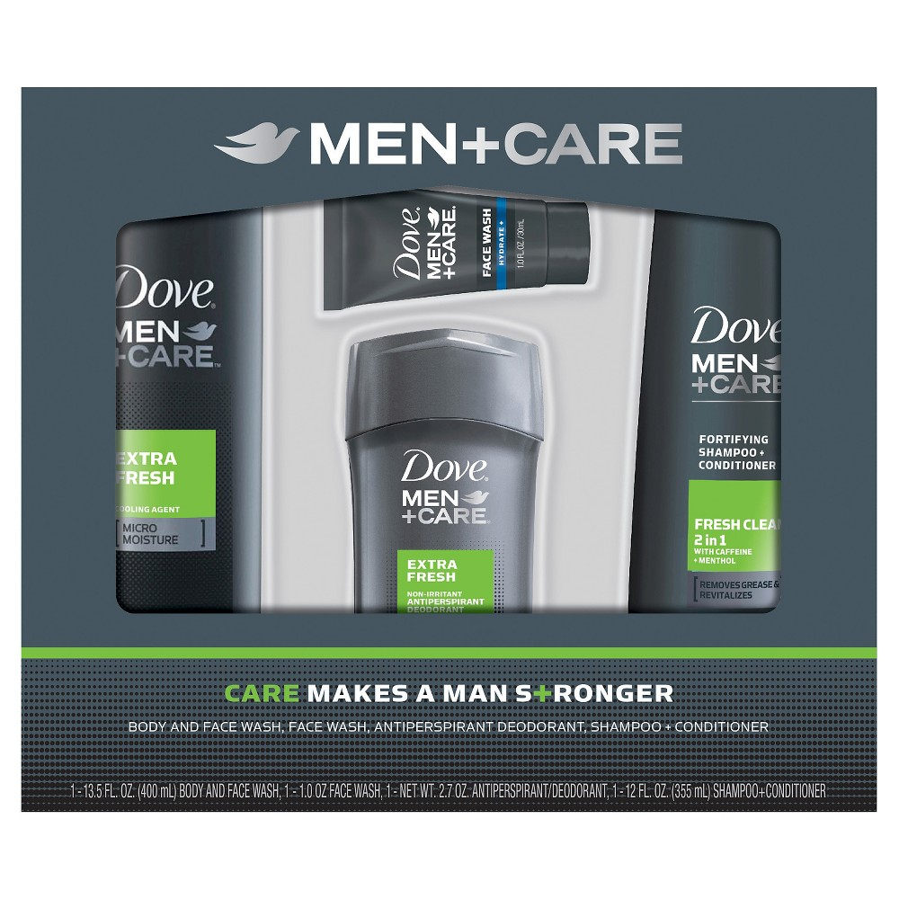Dove Men+Care Extra Fresh Gift Box