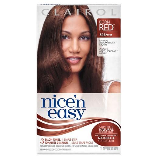 Clairol nice n easy hair color 5rb natural medium reddish brown clairol nice n easy hair color 5rb natural medium reddish brown urmus Choice Image