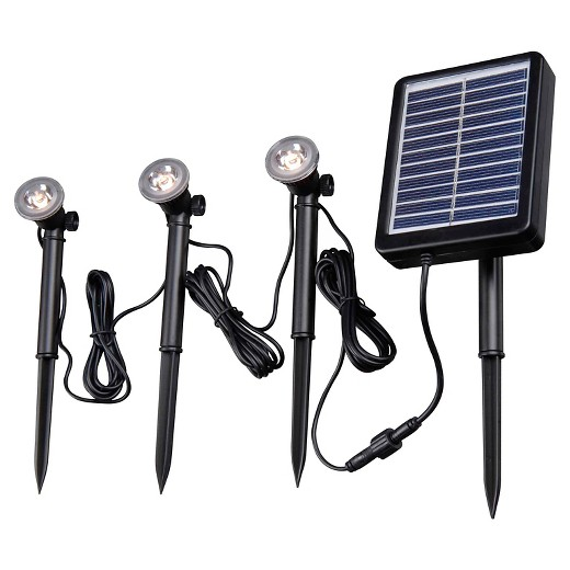 String Lights Target Home : Kenroy Home Solar Deck, Dock and Path Light - 3 light string : Target