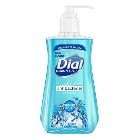 Dial Antibacterial Hand Soap Spring Water 7 5 Fl Oz Target