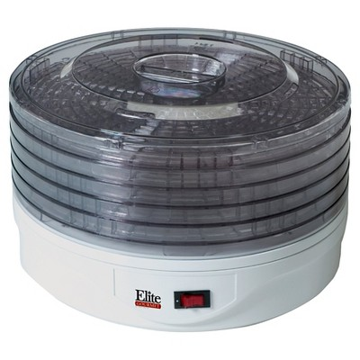 Elite Gourmet 5 Tray Food Dehydrator EFD-1010