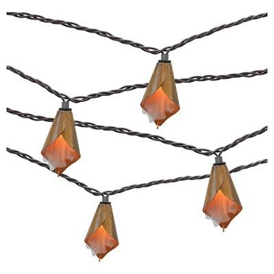 10ct decorative string lights metal flower cover threshold - Decorative String Lights