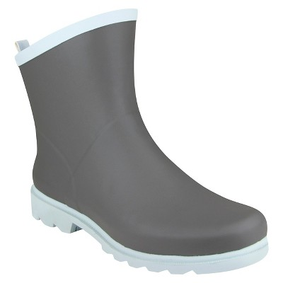 Threshold™ Ankle Garden Boot - Grey (8 )