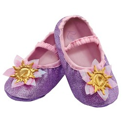 Disney Toddler Princess Rapunzel Slippers Purple