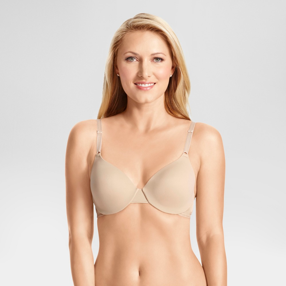 Simply Perfect by Warners Cushioned Comfort Underwire Bra 1593TA - 34D Toasted Almond, Womens