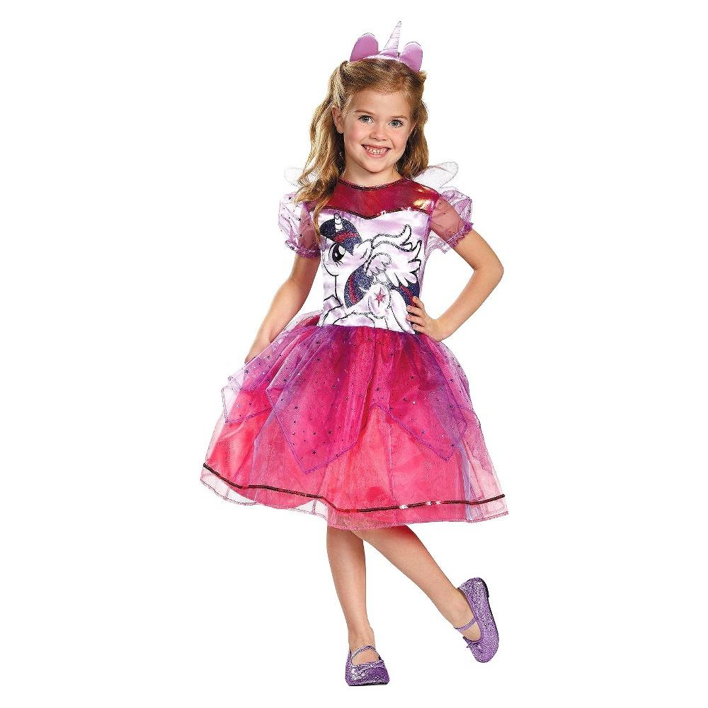 My Little Pony Girls Twilight Sparkle Deluxe Costume - Medium (7-8), Size: M(7-8), Purple