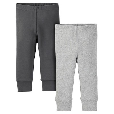 Just One You™ Made by Carter's® Baby 2pk Legging Pant - Gray 6M